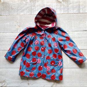 HATLEY ladybug raincoat   size 6